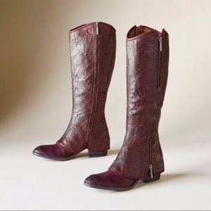 🆕 DONALD J PLINER | Burgundy Devi Boots Knee High